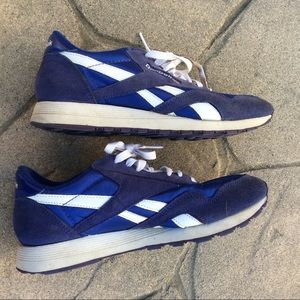 Reebok Shoes - SOLD Reebok Old-school Blue Athletic Shoes